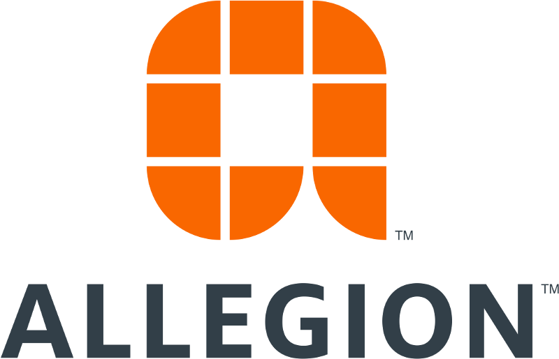 Allegion logo HQ