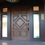 Stylish exterior door
