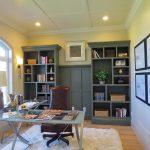 Custom-home-bookshelf-woodwork